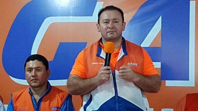 Guillermo Gallegos y Will Salgado posible formula presidencial de GANA