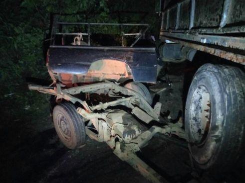Dos personas lesionadas tras accidente de transito en La Libertad