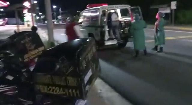 Conductor ebrio provoca accidente de tránsito en desvío a Ciudad Merliot