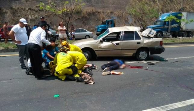 Un muerto y un lesionado tras grave accidente de tránsito sobre carretera de Oro