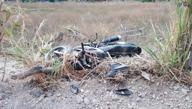 Agente de la PNC muere tras grave accidente de tránsito en carretera de Metapán, Santa Ana