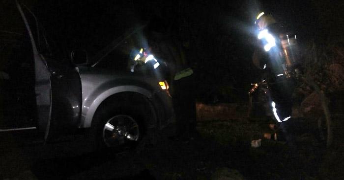Un muerto y dos lesionados tras grave accidente de tránsito en carretera de San Vicente