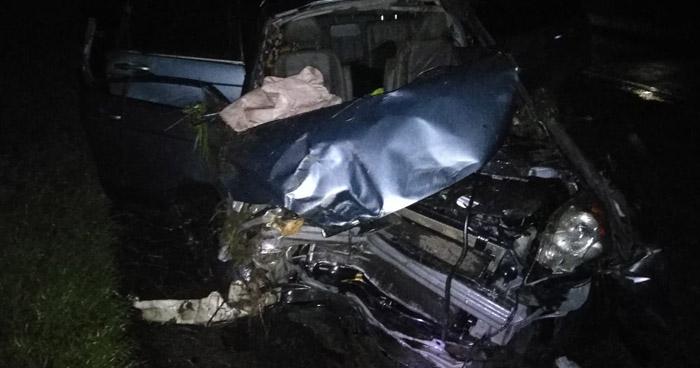 Dos lesionados tras aparatoso accidente de tránsito en autopista Comalapa, Olocuilta