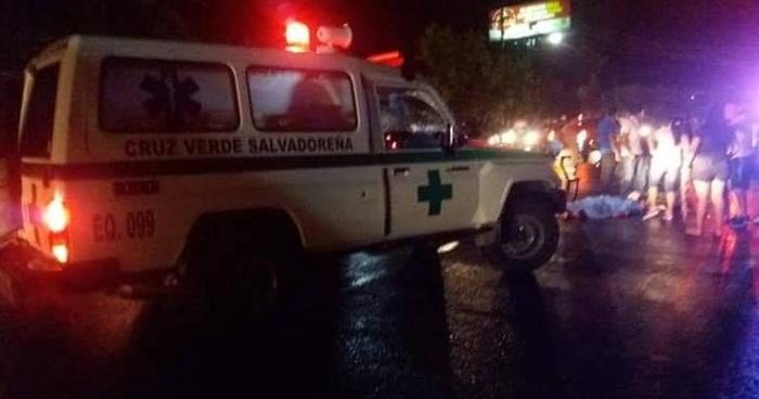 Muere hombre de 78 años de edad tras ser atropellado en carretera a Comalapa