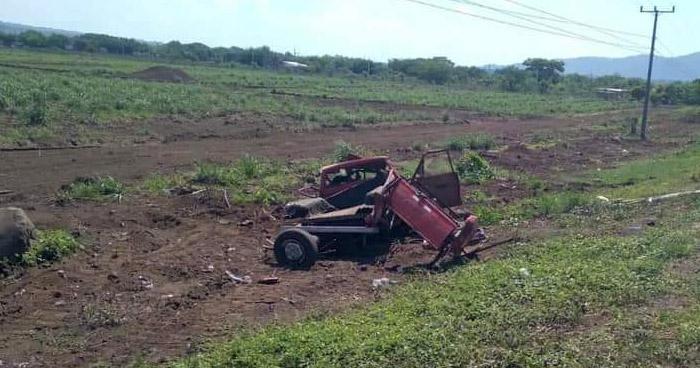 Un fallecido tras fuerte choque en carretera Litoral, en San Miguel