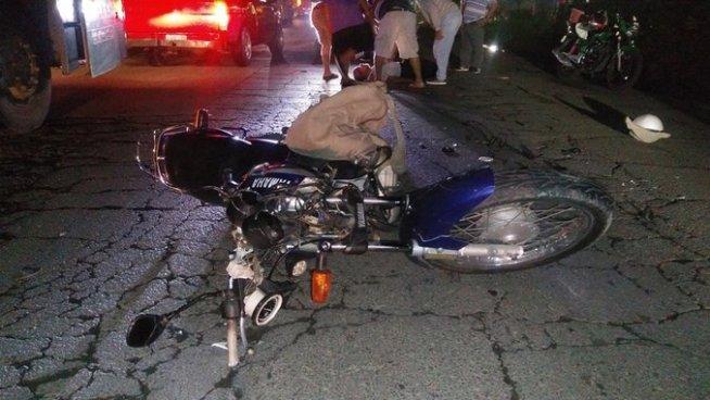 Muere hombre tras ser atropellado por una motocicleta en La Unión