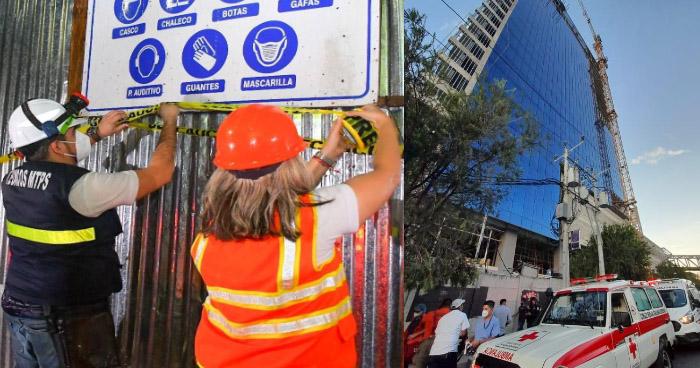 Muere uno de los trabajadores tras accidente en construcción en Paseo General Escalón, en San Salvador
