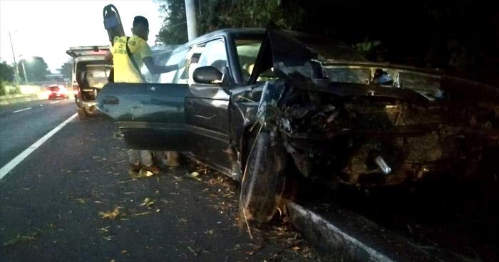 Al menos cinco lesionados dejaron varios accidentes registrados esta mañana