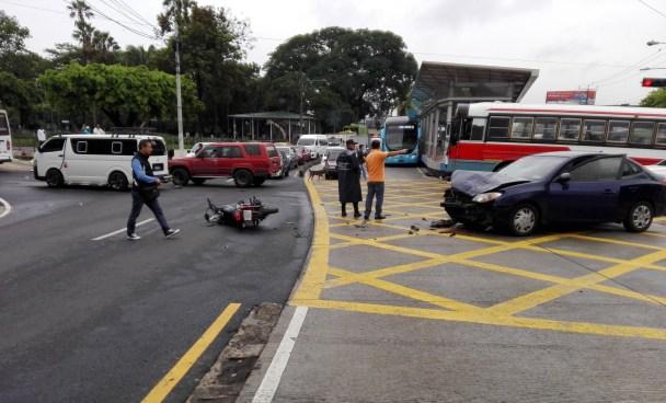 Más de 9,500 accidentes de tránsito se han registrado desde enero hasta junio