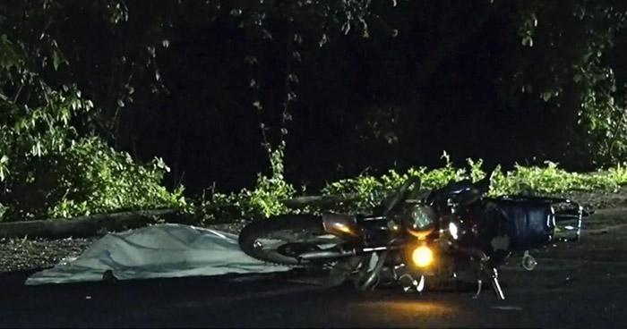 Un fallecido y dos lesionados tras accidentes de motocicleta en La Libertad
