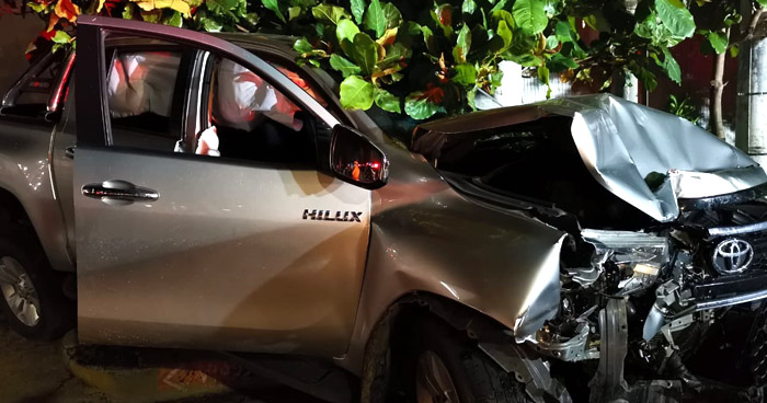Hombre lesionado tras ser arrollado por su vehículo sobre el Paseo General Escalón