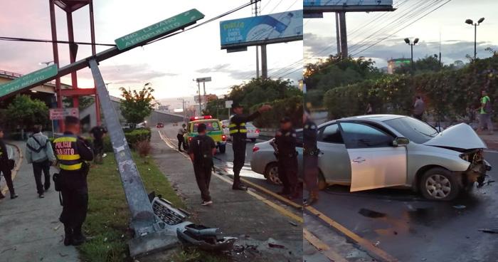 Conductor en estado de ebriedad provoca accidente cerca de la Basílica de Guadalupe