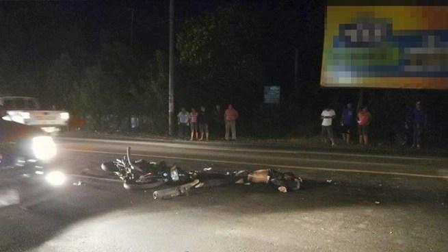 Muere motociclista tras chocar con una pipa en San Miguel