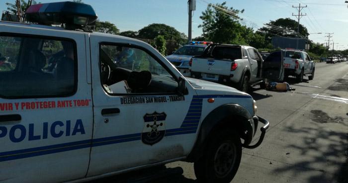 Motociclista muere tras ser arrollado sobre carretera Panamericana, en San Miguel