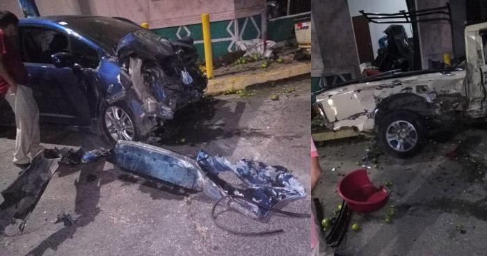 Accidente por conductor ebrio en San Miguel dejo a una mujer fallecida