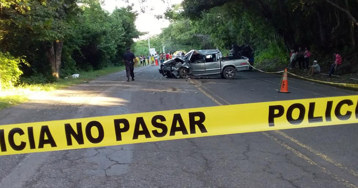 Hombre muere tras sufrir accidente de tránsito en carretera Litoral, San Miguel