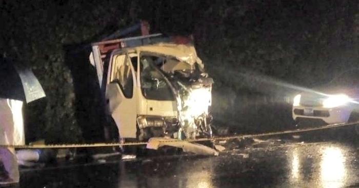 Un fallecido tras grave accidente de transito anoche en San Vicente