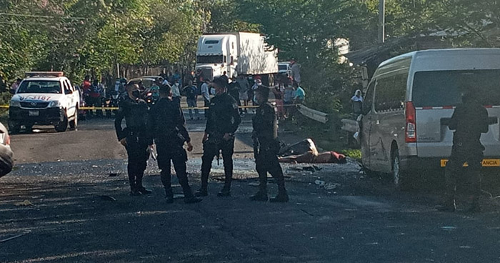 Dos fallecidos tras accidente de tránsito en San Alejo, La Unión