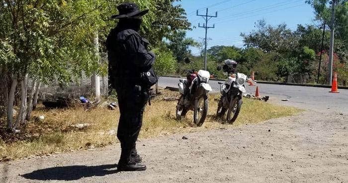 Motociclista muere en grave accidente sobre carretera de San Miguel