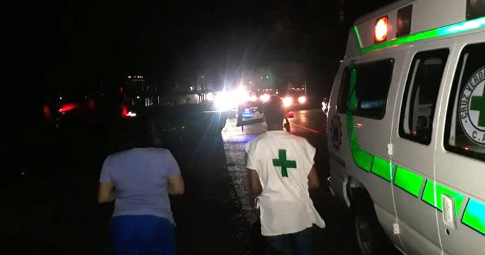 Motociclista murió tras impactar con un camión en la carretera a Santa Ana