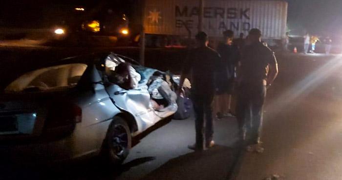 Mujer pierde un brazo tras accidente de tránsito en Santa Ana