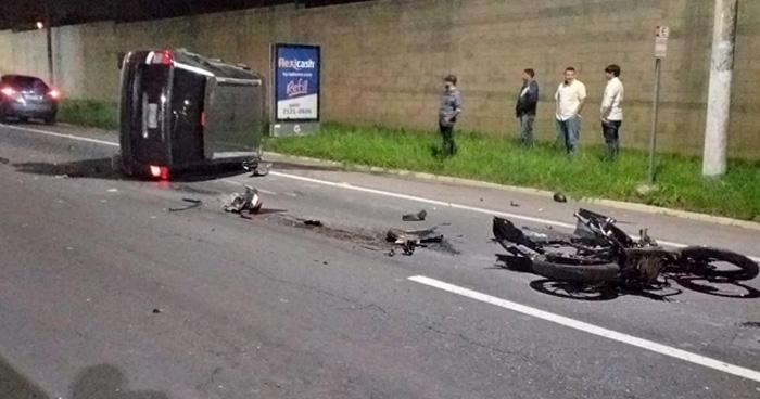 Un fallecido y 4 lesionados dejo grave accidente de transito en la Avenida Jerusalén