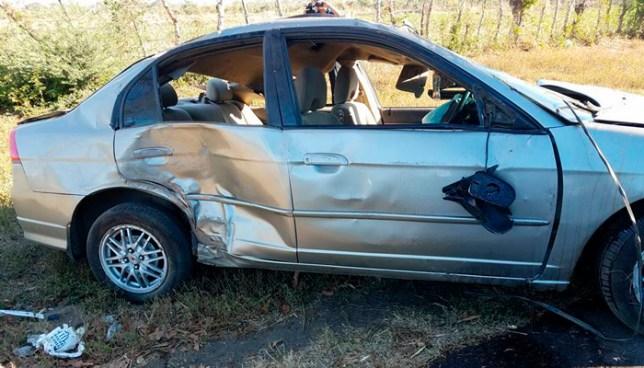 Un hombre murió tras un aparatoso accidente de tránsito en carretera Litoral, San Miguel