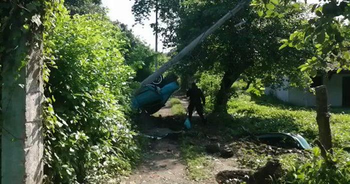 Un fallecido y cuatro lesionados tras aparatoso choque que carretera Troncal del Norte