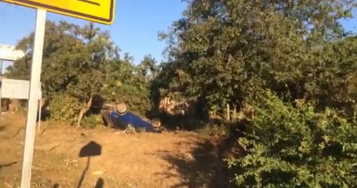 Persona fallecida tras accidente en carretera Litoral, Usulután