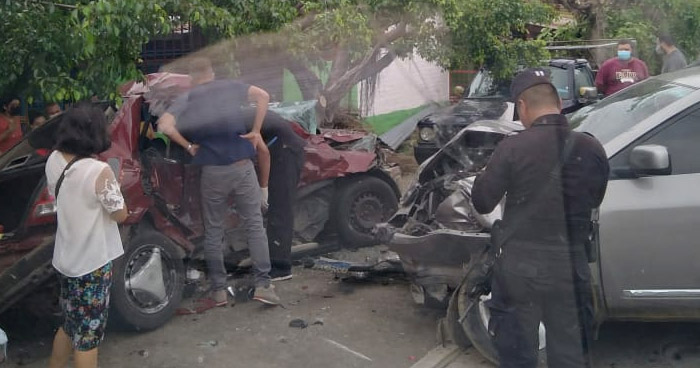 Un fallecido tras aparatoso choque en Zacatecoluca, La Paz