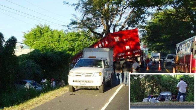 Fallece Subteniente de la FAES tras trágico accidente en carretera a Zacatecoluca