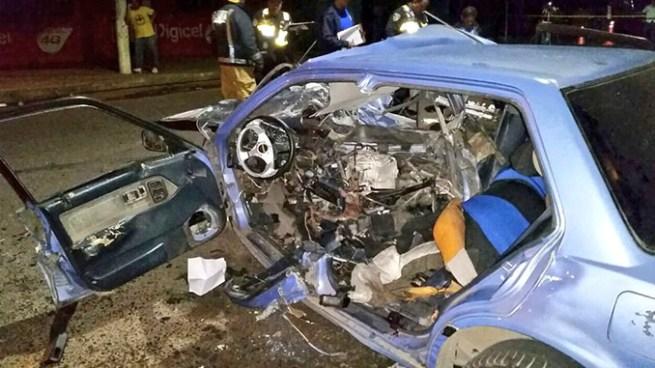 116 accidentes de tránsito y 6 fallecidos en primeros 2 días de vacaciones agostinas