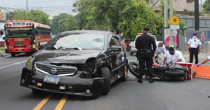 Varios accidentes de tránsito se registraron este miércoles