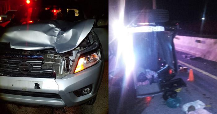 Un fallecido y varios lesionados tras accidentes registrados en las últimas horas