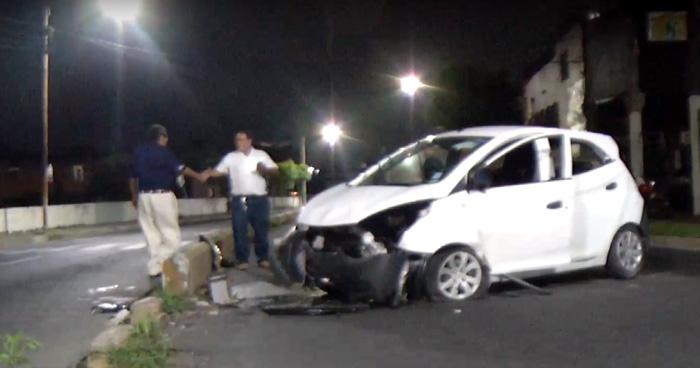 Dos accidentes en el Bulevar Venezuela dejan 5 lesionados esta madrugada