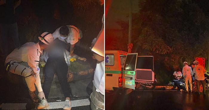 Cuatro lesionados tras accidentes de tránsito registrados en las últimas horas