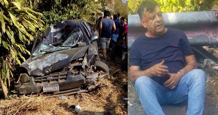 Ebrio y sin licencia atropelló y mató a un ciclista en carretera de Cuscatlán