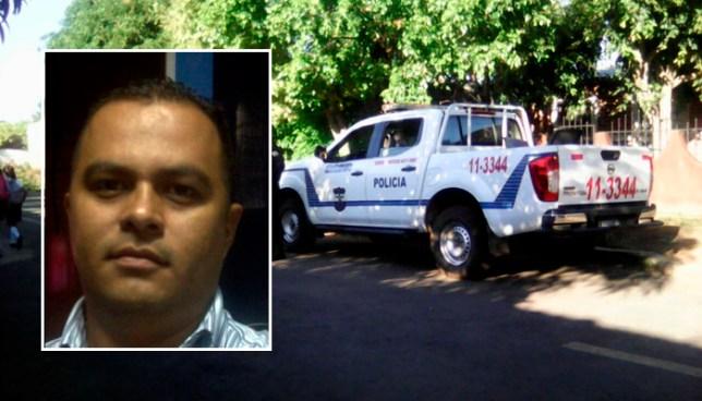 Agente de la PNC, que asesinó a su pareja en Ahuachapán y luego se dio un tiro en la cabeza, muere en el hospital