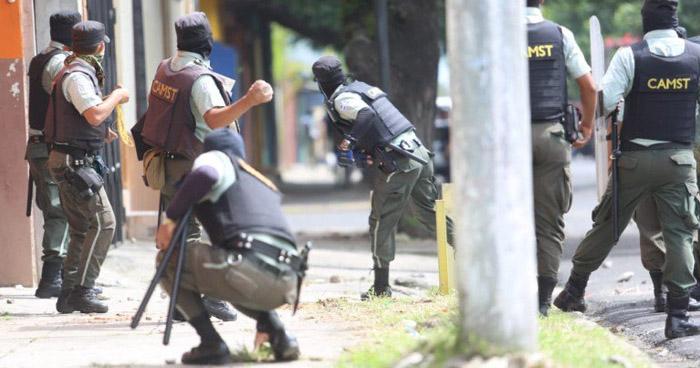 Agentes del CAM de Santa Tecla no tienen la capacidad técnica para el manejo de disturbios