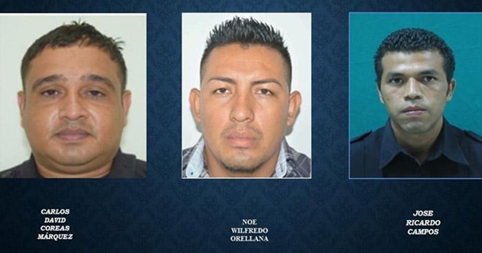 Piden prisión preventiva para agentes de la PNC acusados de desaparición forzada y homicidio