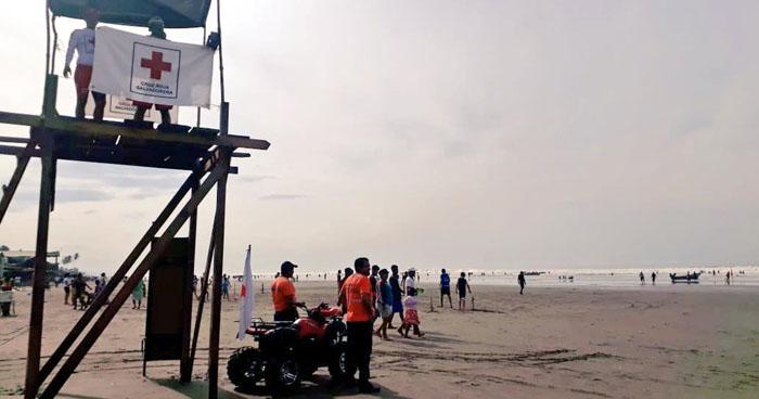 Madre y su hija de 11 años de edad murieron ahogadas en playa El Espino