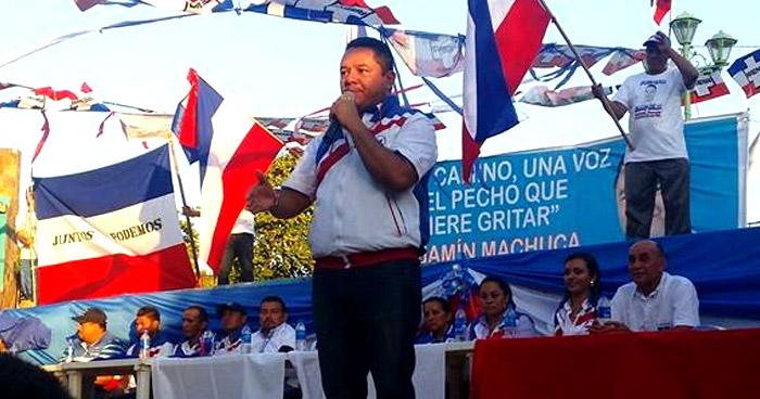 Alcalde de Concepción Batres  condenado a 6 años de cárcel por tráfico de personas