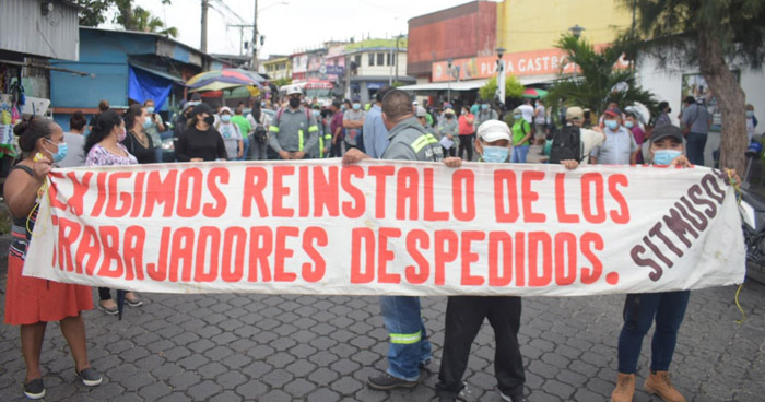 Denuncian cerca de 200 despidos en la alcaldía de Soyapango