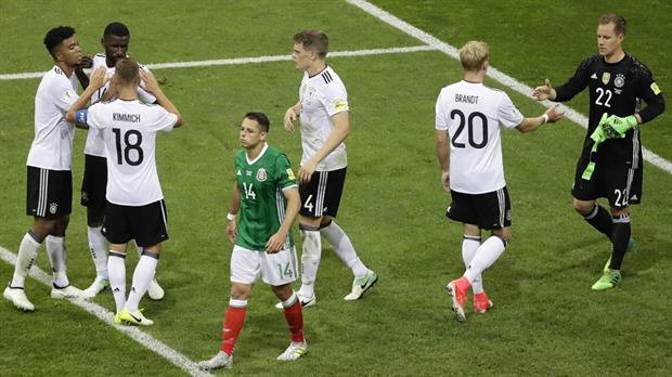 Alemania golea a México y jugará la final de la Confederaciones con Chile