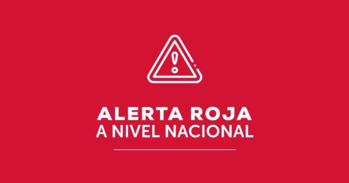 Alerta ROJA en El Salvador por Huracán ETA