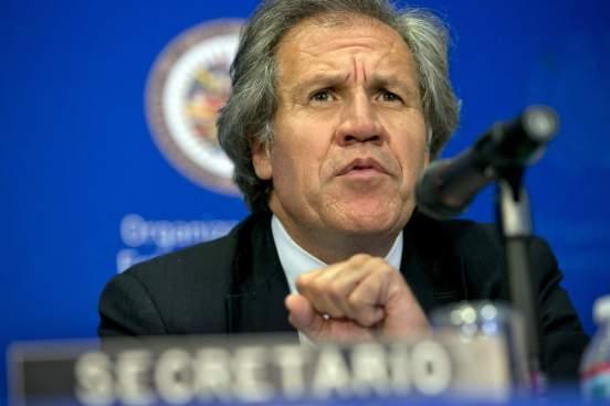 """Almagro: """"Ofrezco mi renuncia en la OEA a cambio de la libertad de Venezuela"""""""