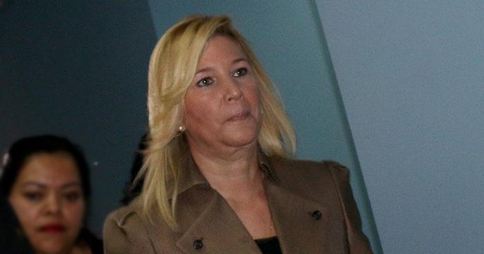 Fiscalía pide detención provisional contra Ana Ligia de Saca por peligro de fuga