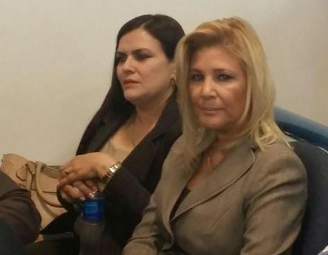 Ana Ligia de Saca bajo custodia en el Hospital donde esta ingresada