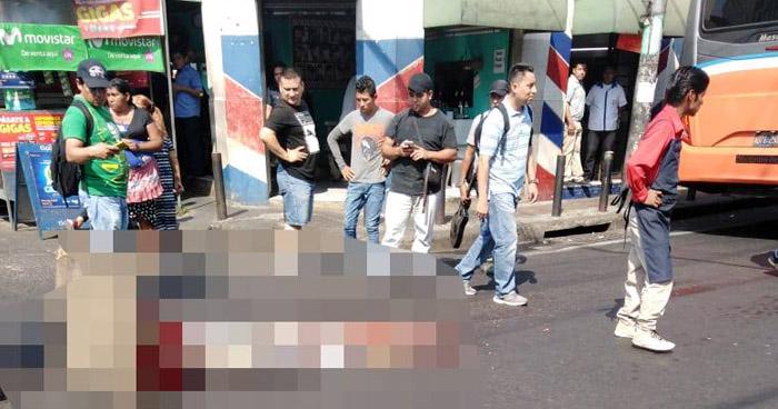Motorista de Ruta 29-A atropella y mata a un anciano en San Salvador