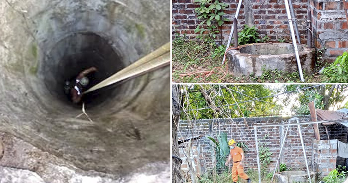 Recuperan cadáver de anciano del interior de un pozo en Zacatecoluca